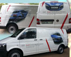 Vehicle Audi transporter