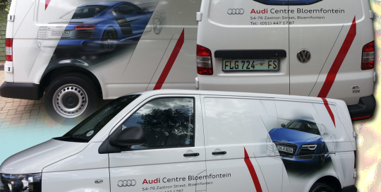 Vehicle Audi transporter